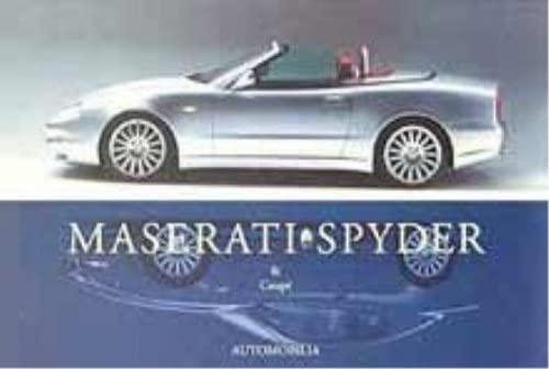 Maserati Spyder and Coupe.: Cornil, Etienne.