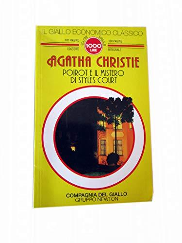 9788879830775: Poirot e il mistero di Styles Court
