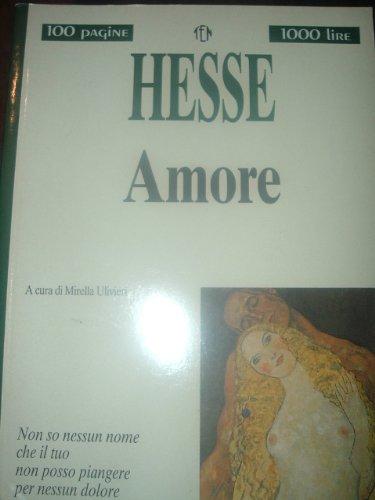 9788879831130: Amore (Tascabili economici Newton)