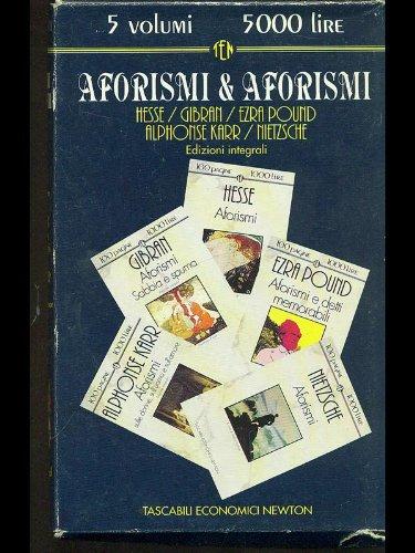 Aforismi & aforismi.: Hesse, Gibran, Ezra