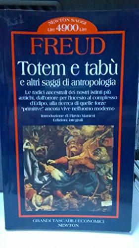 9788879832779: Totem e tabù e altri saggi di antropologia