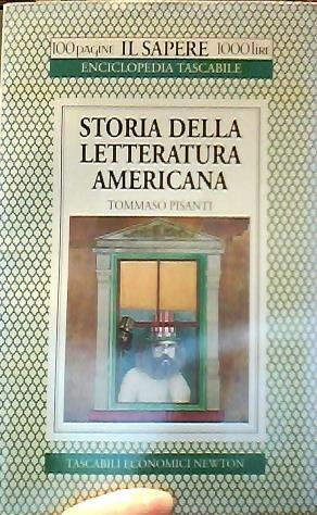 Storia della letteratura americana (Il sapere): Tommaso Pisanti