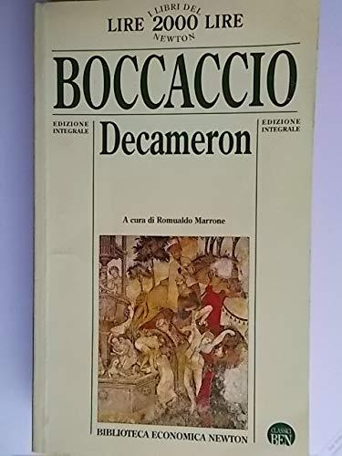 Decamerone.: Boccaccio, Giovanni