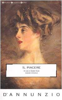 9788879837699: Il piacere (Biblioteca economica Newton)