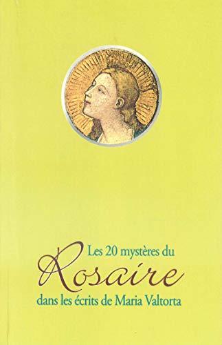 Les 20 mystères du Rosaire dan (French: Valtorta, Maria