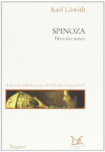 9788879894753: Spinoza. Deus sive natura