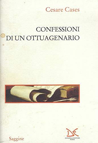 9788879895491: Confessioni di un ottuagenario
