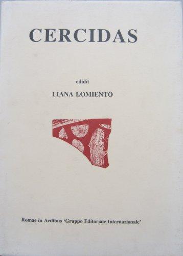 9788880110088: Cercidas: Testimonia et fragmenta (Lyricorum graecorum quae exstant)