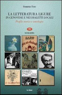 La letteratura ligure in genovese. Profilo storico: Toso, Fiorenzo