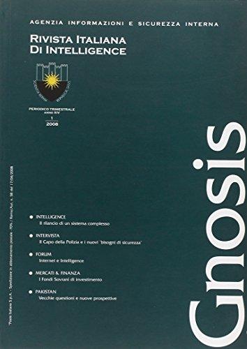 9788880168645: Gnosis (2008). Rivista italiana di Intelligence: 1