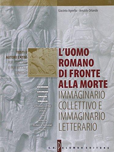 L'uomo romano di fronte alla morte: immaginario: Agnello, Giacinto