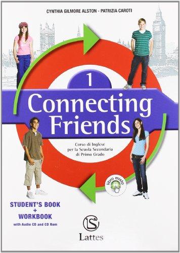 9788880424802: Connecting friends. Welcome folder-Vocabulary book. Con CD Audio. Per la Scuola media. Con CD ROM: 1