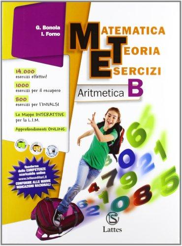 9788880425199: Matematica teoria esercizi. Aritmetica. Con il mio quaderno INVALSI 2. Per la Scuola media. Con espansione online