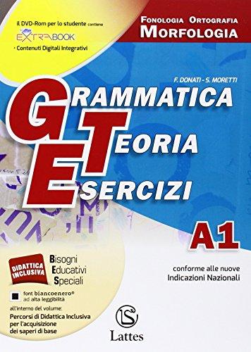 9788880427995: Grammatica teoria esercizi. Vol. A1-A2-B-C-D. Per le Scuole superiori. Con DVD ROM