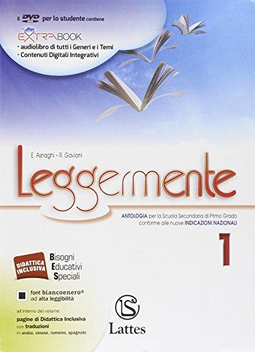 9788880428367: Leggermente. Il mito e l'epica-Libro delle competenze. Per le Scuole superiori. Con DVD ROM