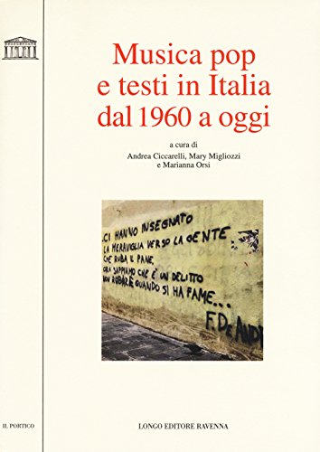9788880637875: Musica pop e testi in italia dal 1960 a oggi