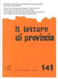 Il Lettore di Provincia. Vol. 141. Pensiero