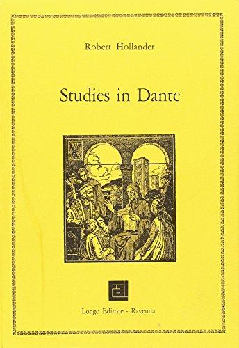 Studies in Dante.: Alighieri, Dante;Hollander, Robert