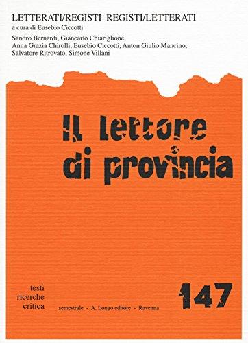 Il lettore di provincia: 147