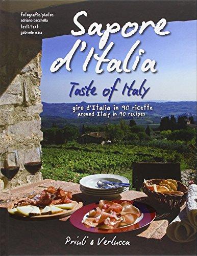 Sapore d'Italia. Giro d'Italia in 90 ricette-Taste: Bacchella Adriano. Isaia