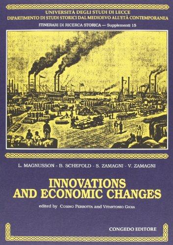 Innovations and Economic Changes (Itinerari di ricerca: Vitantonio Gioia