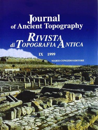 Journal of ancient topography-Rivista di topografia antica: UGGERI, G., ED.