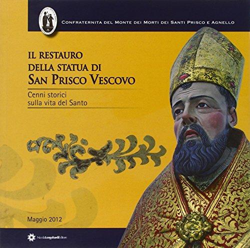 Il restauro della statua di San Prisco: Franco Gargiulo, Agostino