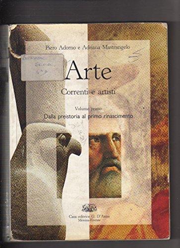 Arte. Correnti e artisti. 1: P. Adorno