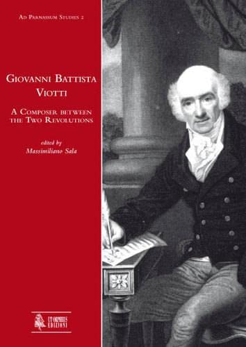 9788881094578: Giovanni Battista Viotti. A Composer Between the Two Revolutions (Ad Parnassum Studies)