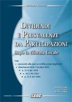 9788881153893: Dividendi e plusvalenze da partecipazioni dopo la riforma fiscale