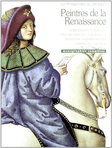9788881173990: I protagonisti dell'arte italiana. Pittori del Rinascimento. Ediz. francese