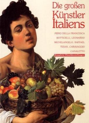 9788881174911: I protagonisti dell'arte italiana. Ediz. tedesca