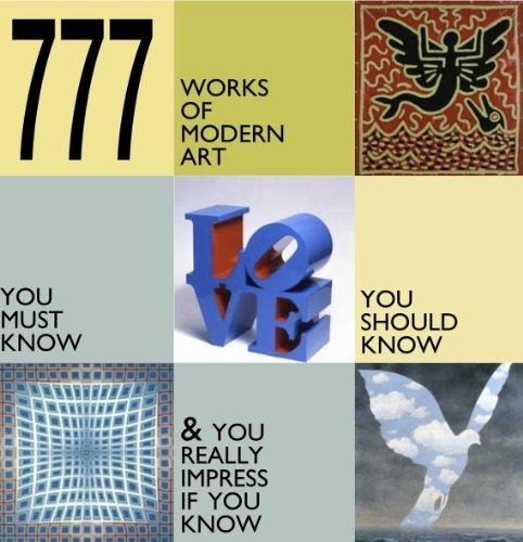 9788881175581: 777 Works of Modern Art