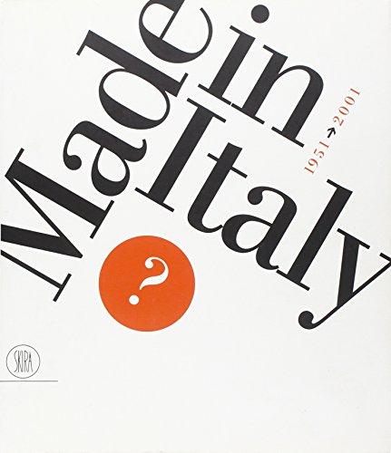 1951-2001: Made in Italy?: Settembrini, Luigi