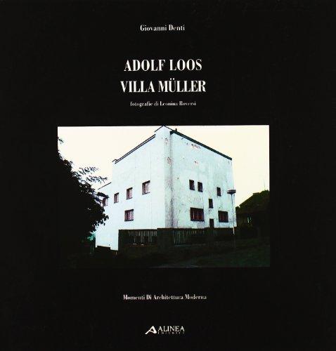 9788881252701: Adolf Loos: villa Müller