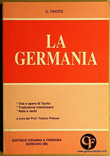 9788881441785: Germania (Traduzioni interlineari dal latino)