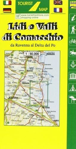 9788881461011: Lidi e valli di Comacchio 1:50.000
