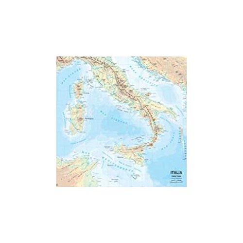 Cartina Fisica E Politica.9788881462667 Carta Geografica Murale Fisica E Politica Italia Belletti 97x134 Cm Ms01pl Abebooks 8881462664