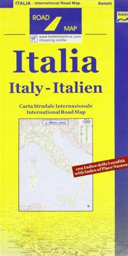 9788881462698: Italia amministrativa e stradale 1:800.000 (Road map)