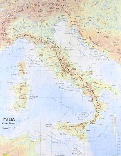 9788881462896: Italia 1:800.000 (Carte scolastiche)