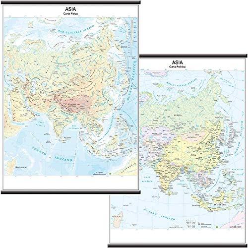 9788881463008: Asia scolastica murale (fisico-politica) 1:11.000.000