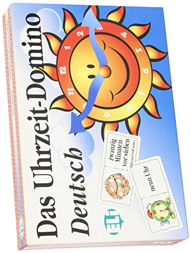 9788881480814: ELI Language Games: Das Uhrzeit-Domino (Italian Edition)