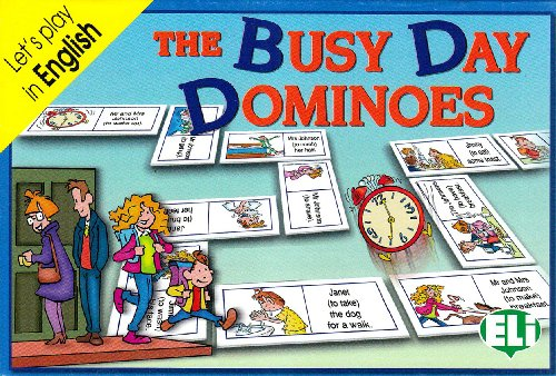 9788881483006: ELI Language Games: The Busy Day Dominoes (Italian Edition)