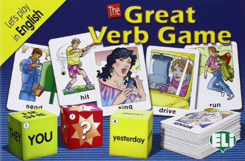 9788881483105: ELI Language Games: The Great Verb Game (Italian Edition)
