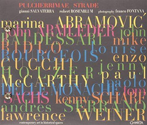 9788881583195: Pulcherrimae Strade: Contemporary Art in Historical Spaces