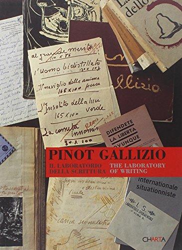 9788881585052: Pinot Gallizio. Il laboratorio della scrittura-The laboratory of writing