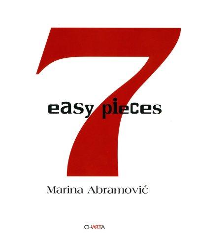 9788881586264: Marina Abramovic: Seven Easy Pieces