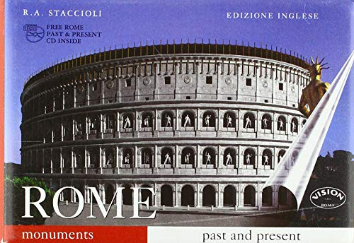 9788881620005: Rome Monuments Past and Present: Guide With Reconstructions WITH CD