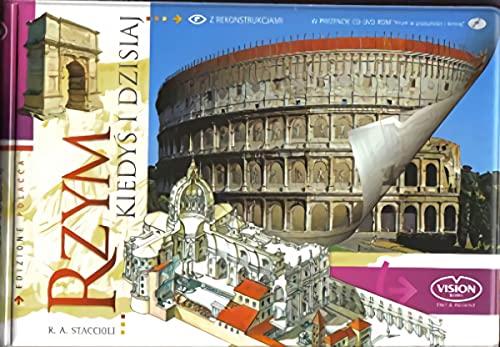 Rzym kiedys i dzisiaj + DVD-ROM: Staccioli, Romolo A.