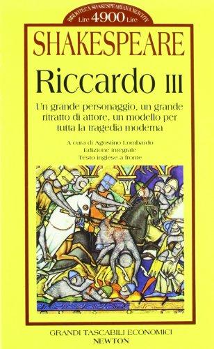 RICCARDO III.: Shakespeare.